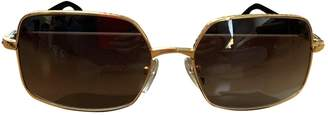 Louis Vuitton Gold Metal Sunglasses