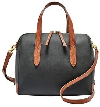 Fossil Sydney Satchel Handbag Black Multi