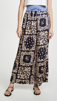 Scotch & Soda Wide Leg Pants