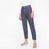 Paul Smith Women's Tapered-Leg Mid-Wash Boyfriend Jeans