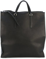 Rick Owens Edith vertical shopper - unisex - Calf Leather/Lamb Skin - One Size