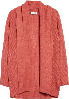 Rachel Parcell Shawl Collar Open Cardigan