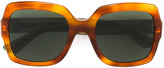 Gucci oversized square sunglasses - women - Plastic - One Size