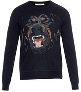 Givenchy Rottweiler Crew-neck Sweater