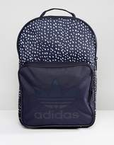 adidas Graphic Backpack In Blue Ab3889