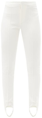 MONCLER GRENOBLE Stirrup Skinny-fit Ski Trousers - Cream