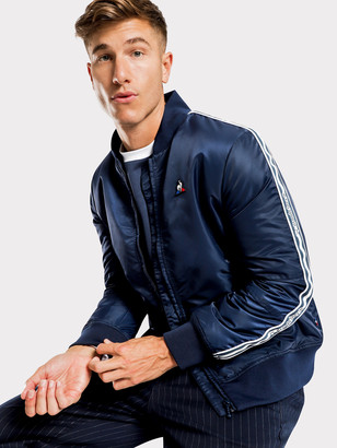 Le Coq Sportif Cabot Bomber Jacket in Blue