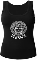 Versace Logo For 2016 Women Printed Tanks Tops Sleeveless T-shirt