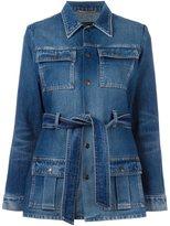 Saint Laurent 70's army coat - women - Cotton - M