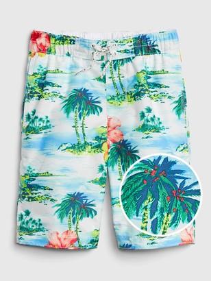 Gap Kids Tropical Board Shorts