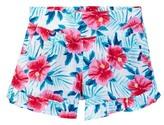 Splendid Hibiscus Print Short (Big Girls)