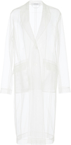 Givenchy Transparent Tulle Coat