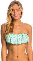 O'Neill Swimwear Deliah Ruffle Bandeau Bikini Top 8113323