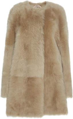 N°21 Tammy Tuscany Shearling Coat Size: 36