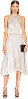 A.L.C. Weston Dress in Silver | FWRD