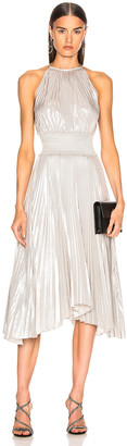 A.L.C. Weston Dress in Silver | FWRD