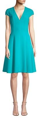 Black Halo Kayley Fit--Flare Dress