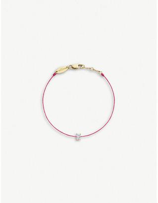 Selfridges RedLine Comtesse 18ct yellow-gold and diamond bracelet