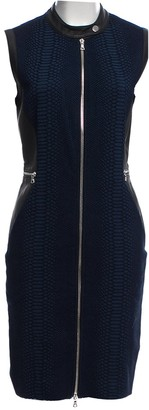Yigal Azrouel Blue Cotton - elasthane Dress for Women