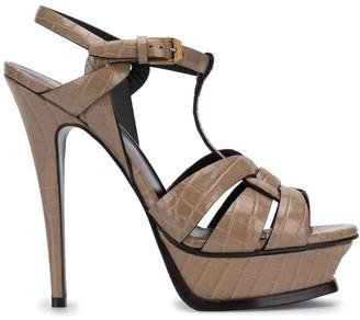 Saint Laurent Tribute 105mm sandals