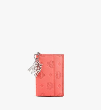 MCM Klara Mini Trifold Wallet in Monogram Leather