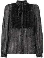 Giambattista Valli lace ruffle detail shirt