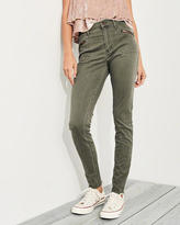 Hollister Stretch High-Rise Super Skinny Pants