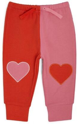 Stella McCartney Kids Heart Patch Sweatpants (3-36 Months)