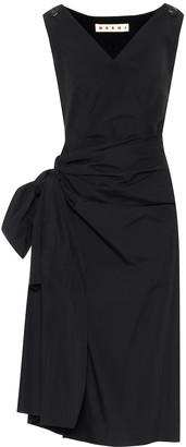 Marni Cotton midi dress