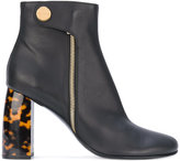 Stella McCartney Turtledove ankle boots - women - Artificial Leather - 35