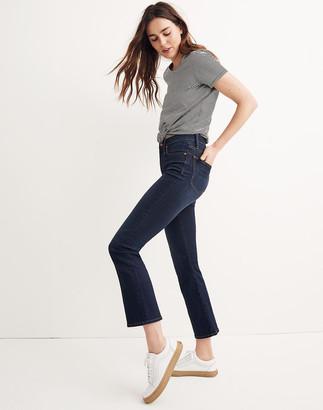 Madewell Petite Cali Demi-Boot Jeans in Larkspur Wash: Tencel Denim Edition