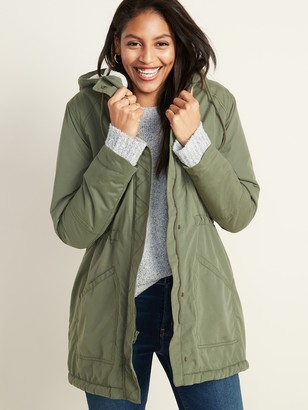 Old Navy Water-Resistant Hooded Faux-Fur-Lined Parka for Women
