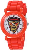 Marvel Boy's 'Guardian' Quartz Plastic and Silicone Casual Watch
