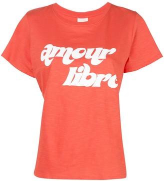Cinq à Sept Amour Libre print T-shirt