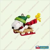 Mini A Ture Hallmark Keepsake Ornament - Winter Fun with Snoopy® 8th in Miniature Collector's Series QXM2092