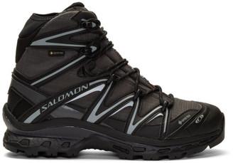 Salomon Black and Grey XT-Quest Hi GTX ADV Boots