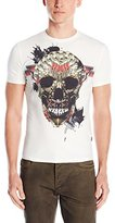 Just Cavalli Men's Skull Short Sleeve T-Shirt
