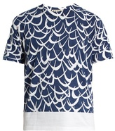 Marni Boomerang-print Cotton-jersey T-shirt