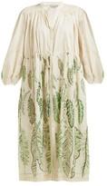 Three Graces London X Zandra Rhodes Julienne Cotton Dress - Womens - Green Multi