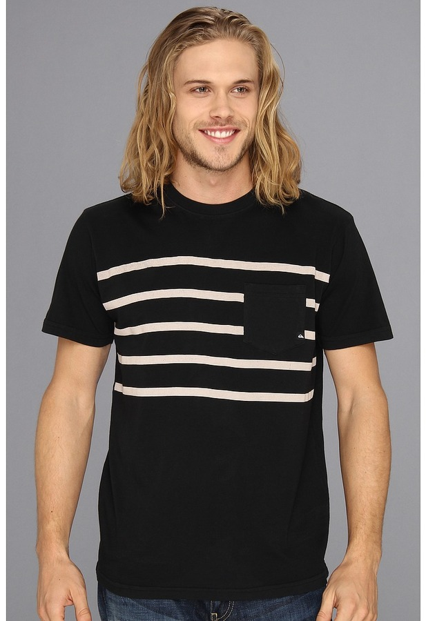 Quiksilver Trapped MTZ M Tee (Black) - Apparel