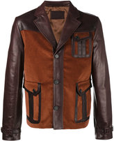 Prada Patch pocket leather jacket