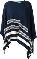 MiH Jeans Simmi poncho - women - Cotton/Polyamide/Viscose - S