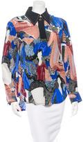 Karen Walker Printed Silk Blouse