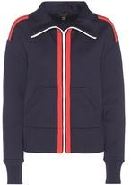 Burberry Silk-blend Jersey Jacket