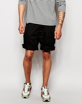 G-star Cargo Shorts Rovic Belted Twill - Black