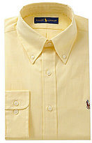 Polo Ralph Lauren Fitted Classic-Fit Button-Down Collar Solid Dress Shirt