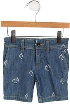 Paul Smith Boys' Patterned Denim Shorts w/ Tags