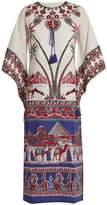 Figue Alexandra printed-cotton dress