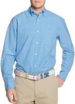 Vineyard Vines Folly Beach Gingham Classic Fit Murray Button-Down Shirt