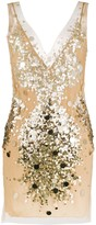 Faith Connexion V-neck sequin embellished dress